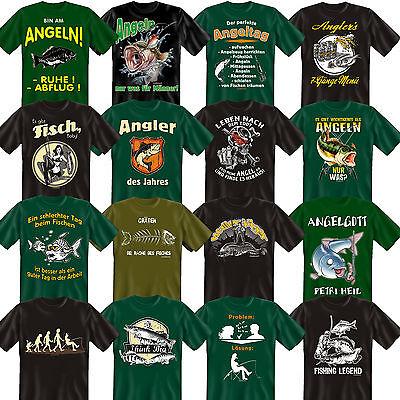 EIN Mann EIN Angler Eine Legende Angler Kinder-Shirt lustige Spr/üche//Motive Angeln f/ür Kinder Bekleidung Kinder Angeln//Angel-Sport