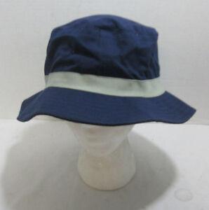 Navy Blue Bucket Hat Boonie Bush Fishing Hat Foldable Wide Brim ... 393949b7a7c