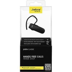 ce4220b37de Jabra - Classic Bluetooth Headset (A2DP / Hands Free) - NEW - Free ...