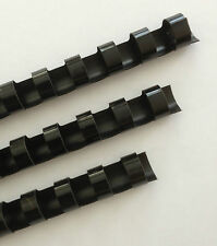 58 Plastic Binding Combs Black Set Of 25