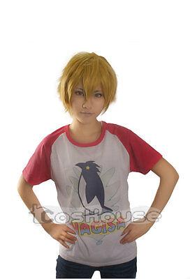 New Anime Free! Iwatobi Swim Club Nagisa Hazuki Halloween Cosplay Unisex T-shirt