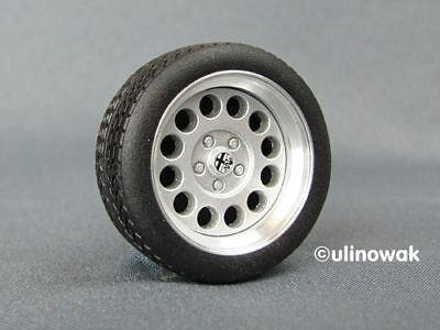 "99093-15 Alufelgen 1:18 Ronal Alfa GTV-Design 15"" p inkl. Logo uni"