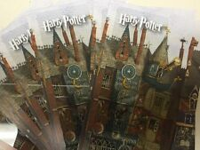 HARRY POTTER BARNES & NOBLE COLLECTIBLE GIFT CARD BOOKMARK PVC UNUSED! HOGWARTS!