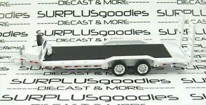 Greenlight-1-64-LOOSE-Heavy-Duty-Trailer-Farm-Car-Flatbed-Hauler-Tow-w-Ramps