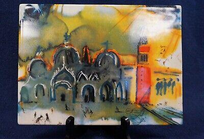 4000 pcs. Salvador Dali /'Girafe Saturnienne/' Signed Porcelain Lim