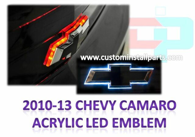 Chevy Camaro 2010-2013 Illuminated DUAL COLOR Rear Trunklid Bowtie LED Light