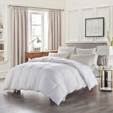 600TC Luxury Egyptian Cotton 100%Goose Down Filled  Comforter  Solid ,All Sizes
