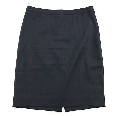 Skirts Women's Clothing Open-Minded J Crew Womens No 2 Pencil Skirt In Pinstripes Super 120s Wool Sz 8 Career Work Jade White