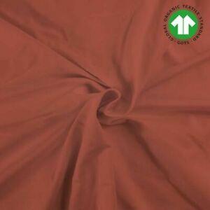 Bio-Buendchen-Rostrot-Orange-Rotbraun-70cm-im-Schlauch-GOTS-kba-Okotex-100