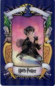 Harry Potter Lenticular Chocolate Frog Card Harry Potter 2001 1st Series