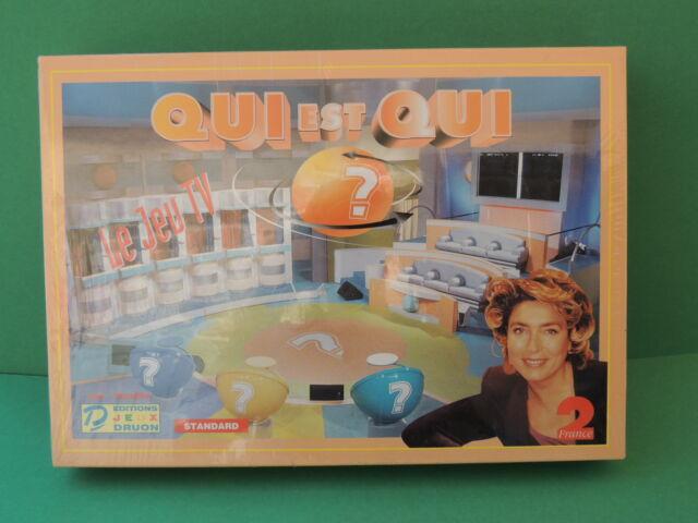 Jeu TV France 2 édition Druon Jeu QUI est QUI