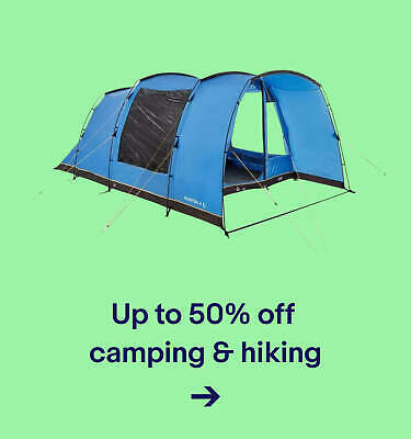 Up to 50% off camping & hiking