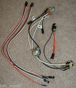 emg solderless ez install wiring kit 2 active pickups 1v. Black Bedroom Furniture Sets. Home Design Ideas