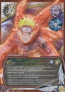 1x-Naruto-Uzumaki-Nine-Tail-039-s-Cloak-976-S19-Rare-NM-Naruto-CCG