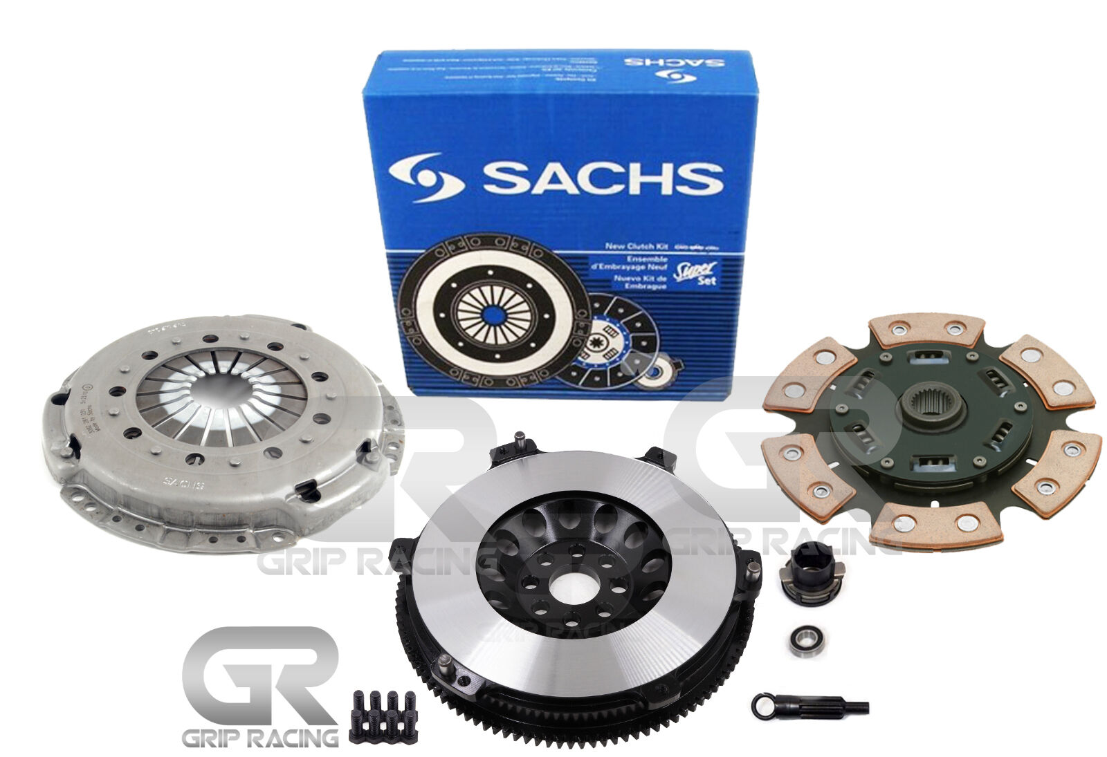 Details about SACHS GRIP STAGE 3 KIT+CHROMOLY RACING FLYWHEEL FOR 2001-2006  BMW M3 E46 3 2L