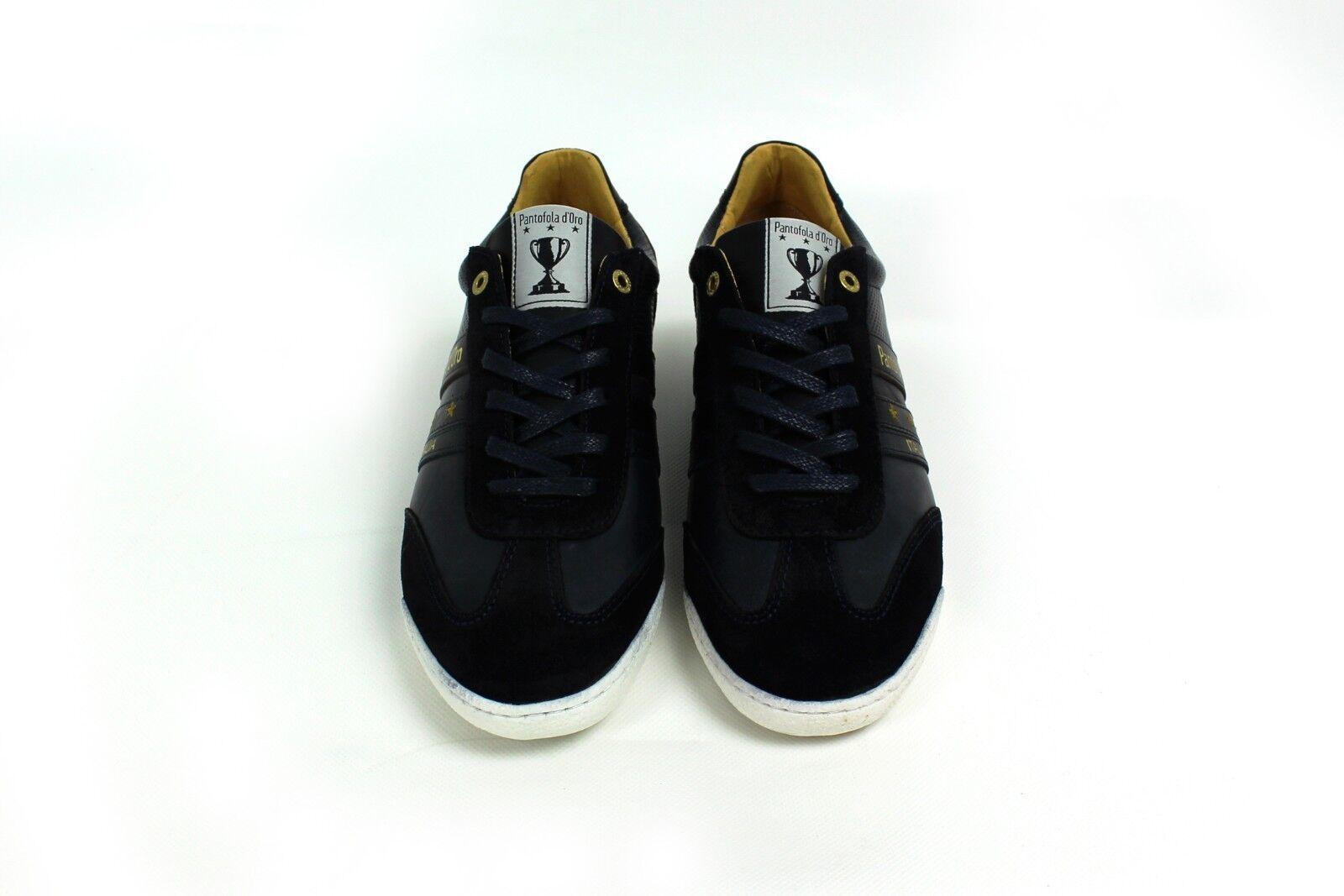 Pantofola d'Oro Herren Vasto Uomo Low Sneaker Blau (Dress Blues) Gr. 41