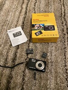 Kodak PIXPRO FZ53 Compact Camera 16mp, 5X Optical Zoom - Black  Nice Condition