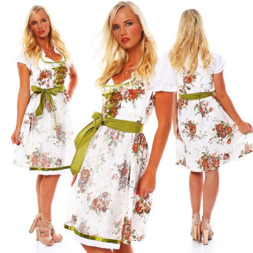 10595 Dirndl 3 tlg.Trachtenkleid Kleid Mini Bluse Schürze Trachten Oktoberfest