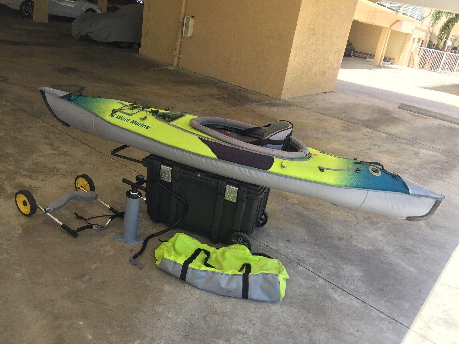 West marine inflatable Advanced Frame kayak