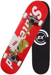 "Pro Skateboard 31/"" X 8/"" Standard Skateboard Cruiser complet érable canadien..."