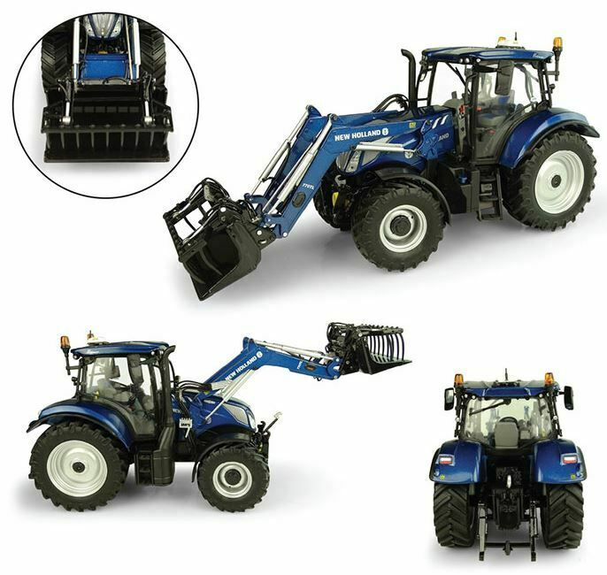 New Holland T6.175 + 770TL Front Loader Tractor 1 32 Model 5320