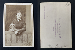 Gaston-Paris-Alice-Regnault-actrice-Vintage-albumen-print-CDV-Tirag
