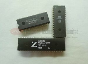 Details about Z80 CPU Kits ZILOG Z84C0020PEC + HM62256 32K SRAM + 28C256  32K EEPROM