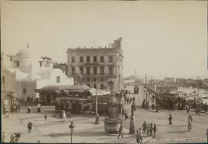 Algerie-Alger-Palais-Consulaire-Vintage-albumen-print-Tirage-albumine