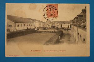 Picardie-Oise-60-AK-CPA-Compiegne-1906-Quartier-de-Cavalerie-5e-Dragons-Caserne