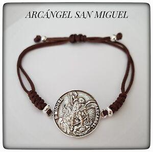 SAN MIGUEL ARCANGEL PULSERA PLATA LEY 925 ARCHANGEL SILVER SAN MIGUEL  BRACELET