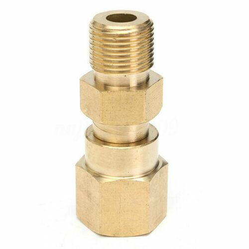 Nettoyeur haute pression Pivotant rapide laiton Raccord Filetage Adaptateur Connecteur Outil