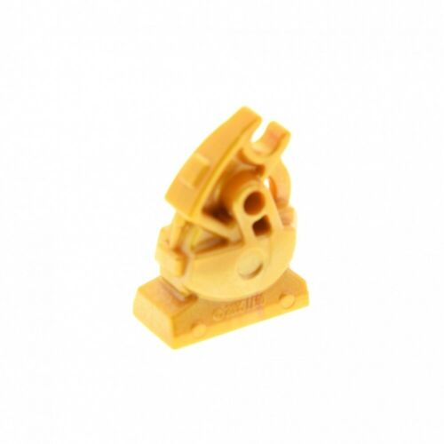 1 x Lego System figure Mechanical Leg Exo Force Robot Meca One Guinea Gold for