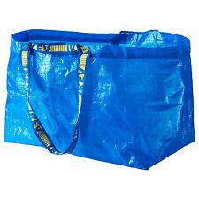 5 x Ikea FRAKTA Large Blue Laundry Bags Ideal For Shopping, Laundry, Storage bag