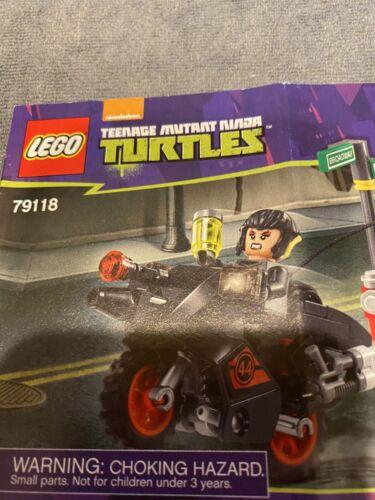 "LEGO 79118 TMNT /""KARAI BIKE ESCAPE/"" INSTRUCTION MANUAL NO BRICKS"