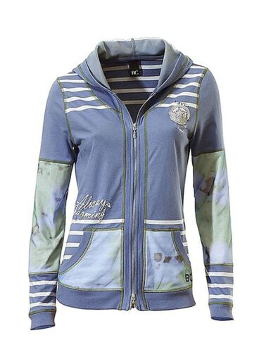 Allways Charming Blau 36 X0208 B.C Best Connections Damen Sweatjacke Kapuze