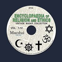 The Encyclopaedia of Religion and Ethics 1908 Books Collection 13 PDF Ebooks DVD