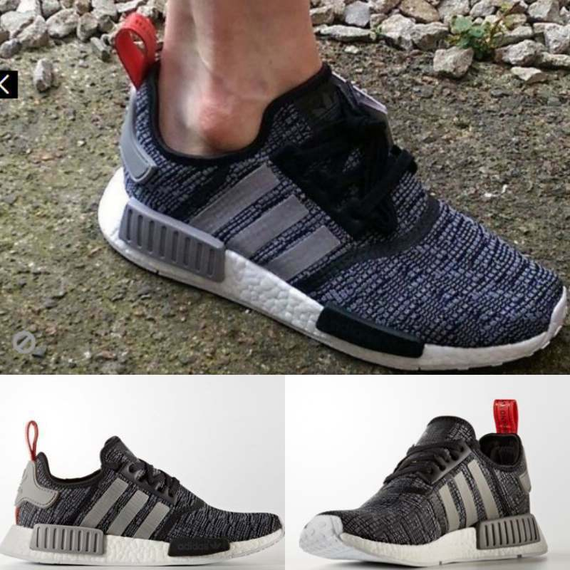 2017 New Adidas NMD R1 Runner Supreme Kit Grey White Boost BB2884 SIZE 4-10