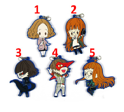 Gaming Persona 5 JOKER Acrylic Key Chain Charms P5 Akira Cute Keychain Pendants