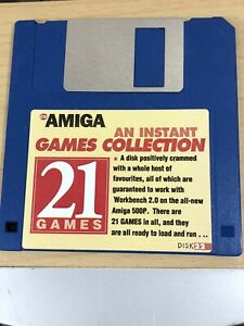 CU-Amiga-Magazine-Cover-Disk-22-instant-game-collection-21-Games-TESTED-WORKING