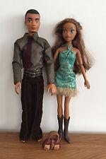 Mattel Barbie My Scene Dolls-Sutton Boy & Girl Doll con ropa y botas de par