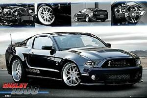 Kunst Maxi Poster 91.5cm x 61cm new and sealed Ford Shelby 1000