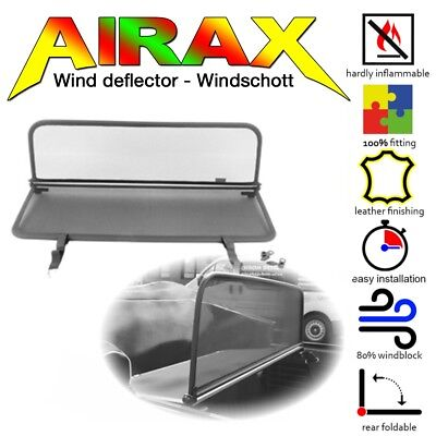 AIRAX Windschott Wind deflector VW Käfer Cabrio 1302 1303 Bj.1964-1981