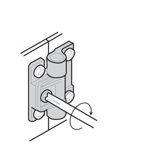 Einstellbar Drehmoment Scharnier Position Kontrolle Ersatz Southco E6-10-301-20