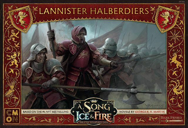 LANNISTER HALBERDIERS: A Song Of Ice and Fire Expansion SEALED