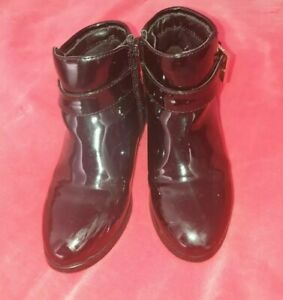 Girls Ted Baker Black Patent Leather