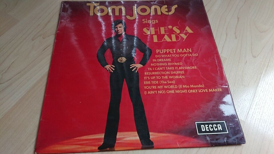 LP, Tom Jones, She's a lady