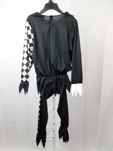 Crazy Jester Boy/'s Scary Clown Halloween Costume Top and Pants 4-6 Small #5475