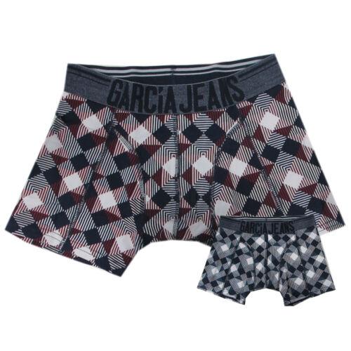 Garcia sous-vêtements Slips Garçons Boxer Rouge Bleu Taille 140,152