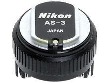 Nikon AS-3 adattatore slitta flash x F e F2 su F3 AS3