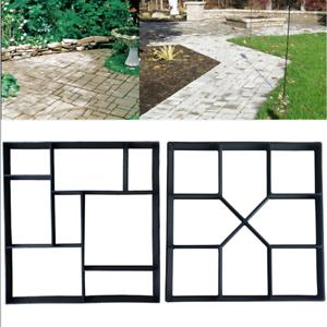 Quadrat Pflasterform DIY Schalungsform Schablone Betonpflaster Gießform Gehweg